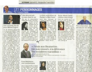 "Article presse ""Le Figaro"""