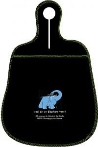 Bagoto Eléphant Bleu