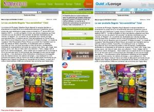 """Article presse """"Stations-Service Actualités"""" et """"Guide Lavage"""""""