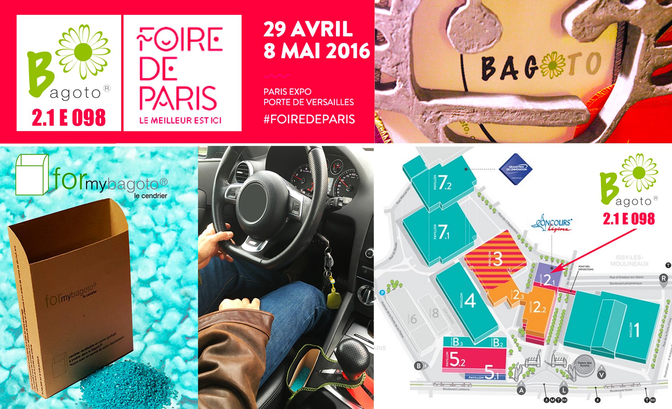 Bagoto, à la Foire de Paris 2016
