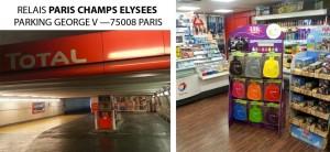 RELAIS TOTAL PARIS CHAMPS ELYSEES