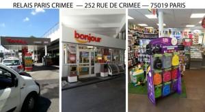 RELAIS TOTAL PARIS CRIMEE