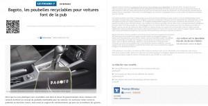 "Article presse ""Le Figaro éco"""