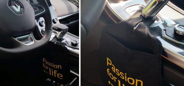 """""""Passion for life"""", personnalisation de Bagoto® par le constructeur Renault"""